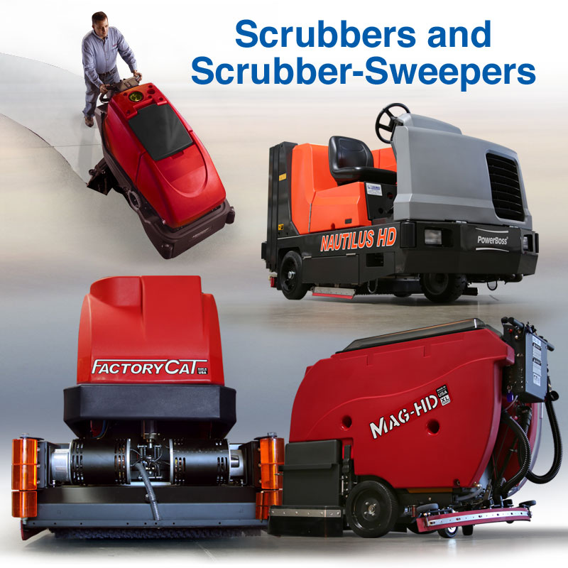 Scrubbers Sweepers