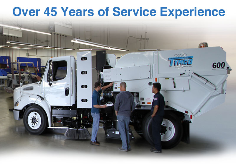 Over 45 Years of Service Experience